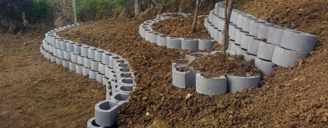 konseptDE Peyzaj Fidancılık Tic. Ltd. Şti. Modern style gardens