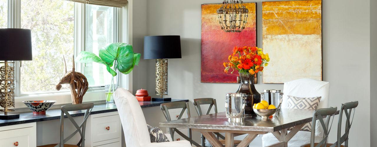 Andrea Schumacher Interiors Salas de jantar clássicas