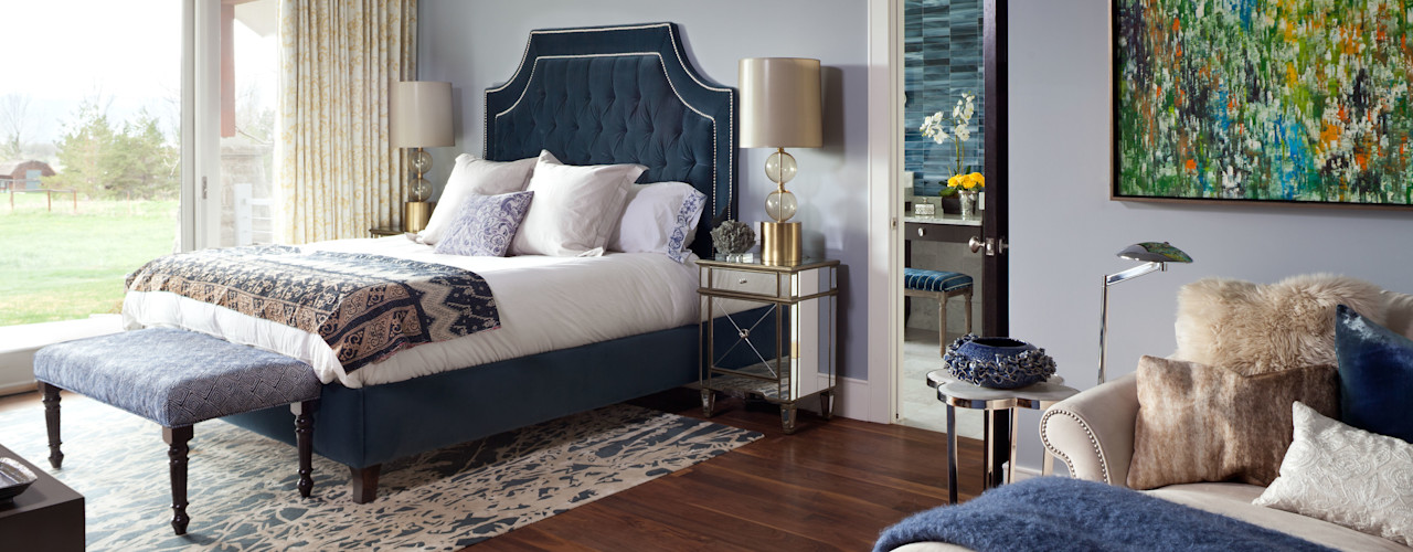Andrea Schumacher Interiors Classic style bedroom