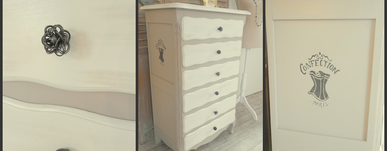 homify BedroomWardrobes & closets Than củi Beige