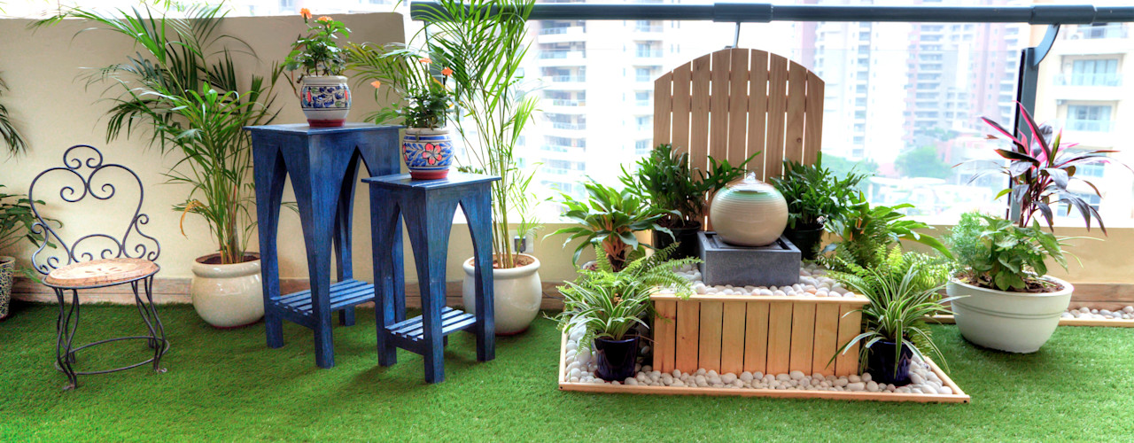 Studio Earthbox Balconies, verandas & terraces Accessories & decoration