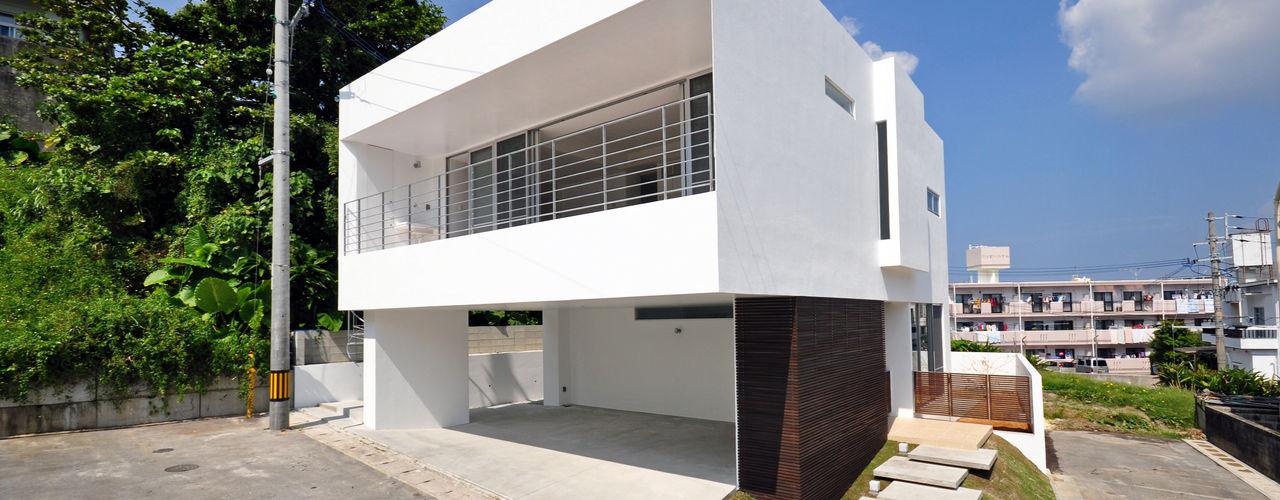 門一級建築士事務所 บ้านและที่อยู่อาศัย คอนกรีตเสริมแรง White