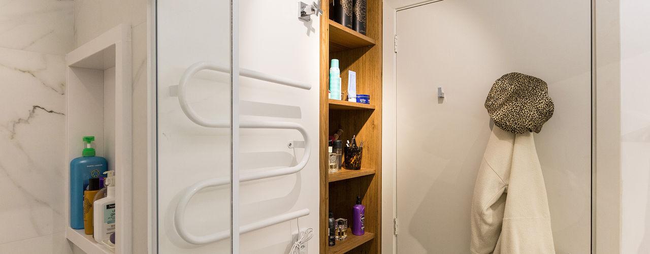 Kali Arquitetura Scandinavian style bathrooms