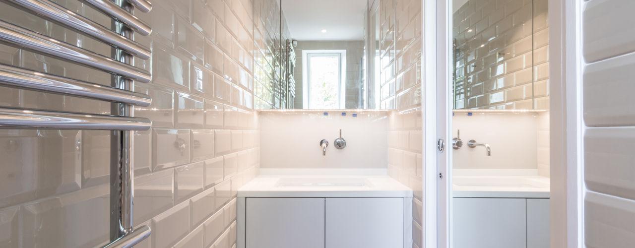 Modern flat – Loft Extension and Renovation, Fulham, SW6 TOTUS Modern bathroom
