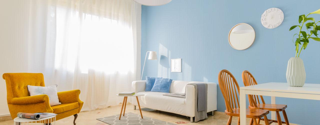 Venduta a Prima Vista Scandinavian style living room