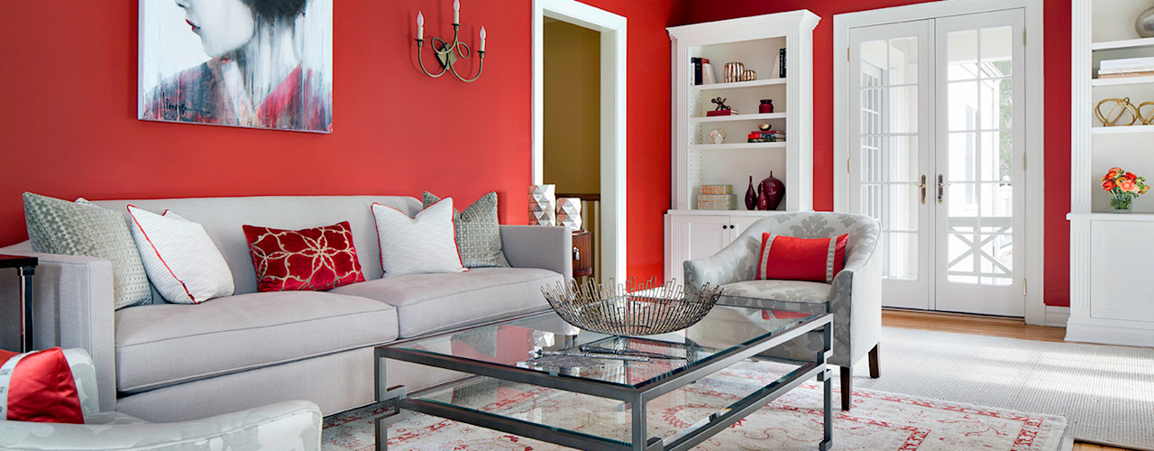 Clean Design Salas de estilo moderno