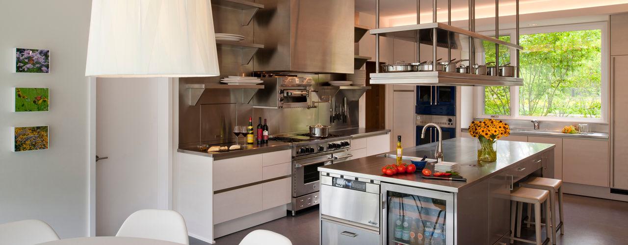 Cunningham | Quill Architects Cocinas de estilo moderno