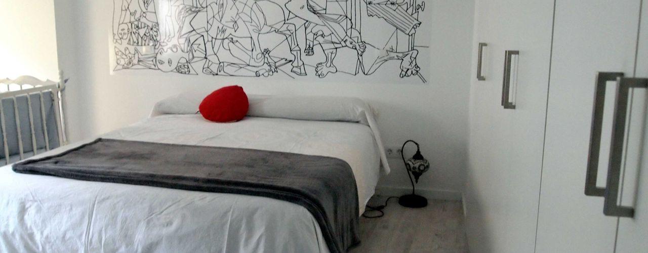 Reforma integral de piso en Opera Reformmia Dormitorios de estilo moderno