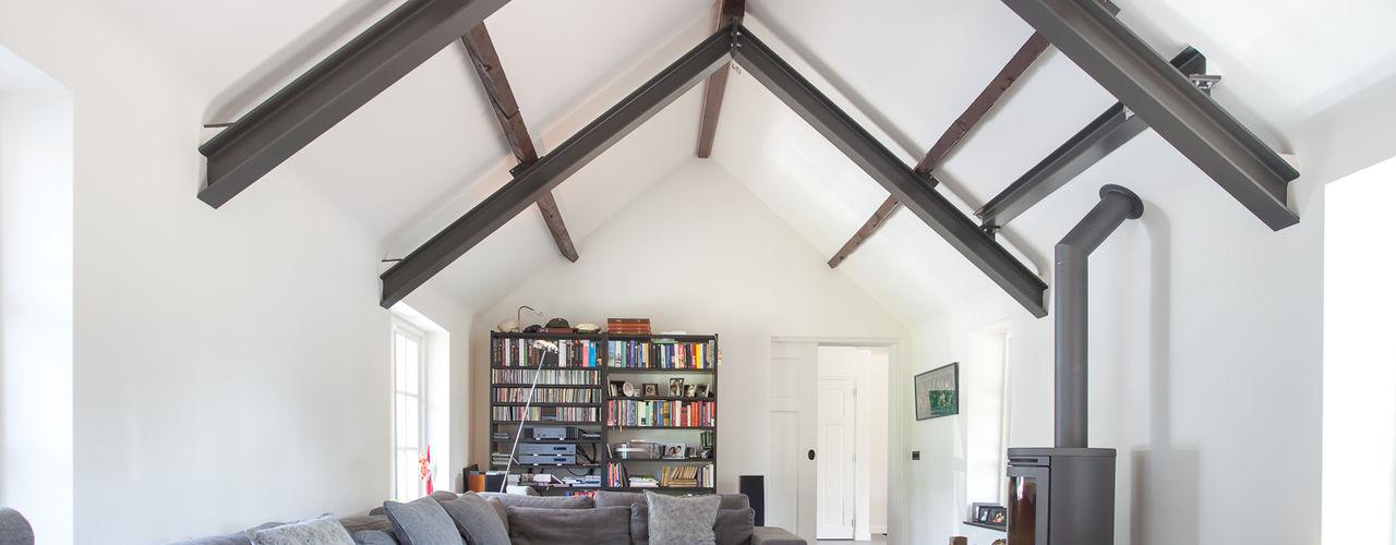 Bob Romijnders Architectuur + Interieur Wohnzimmer im Landhausstil