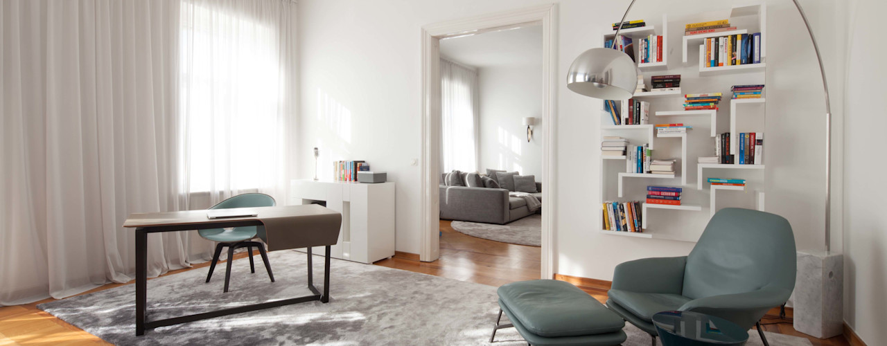 destilat Design Studio GmbH Living room