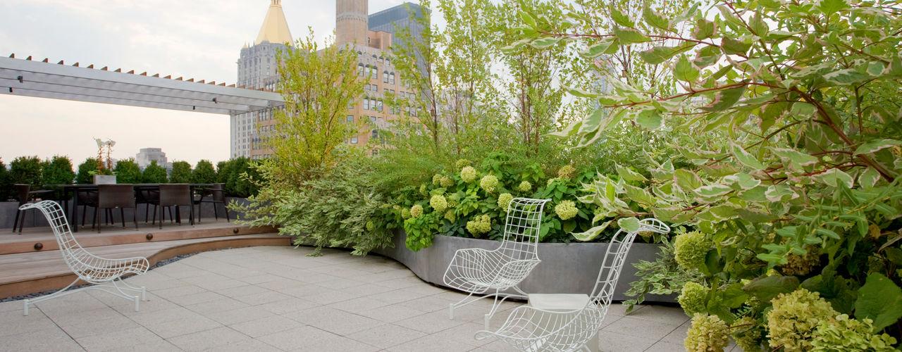 Empire State Loft Koko Architecture + Design Modern Terrace