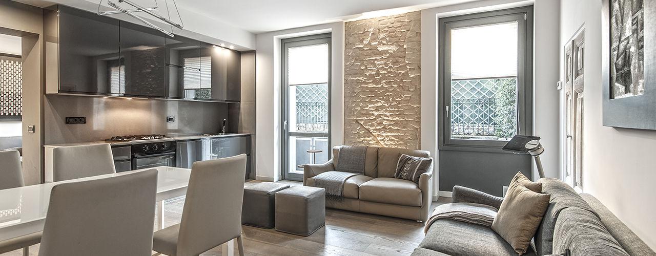 BRANDO concept Moderne Wohnzimmer