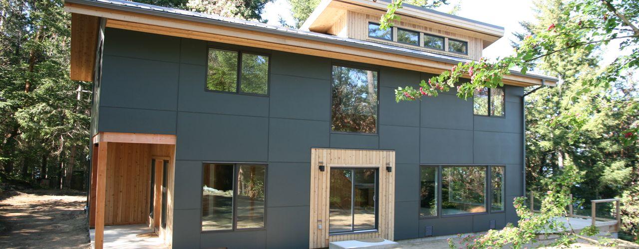 Linwood Green Homes Moderne huizen Beton Grijs