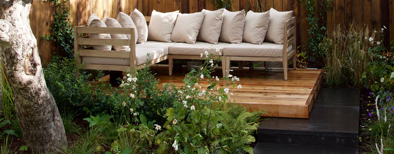 Walthamstow Project Tom Massey Landscape & Garden Design Moderner Garten