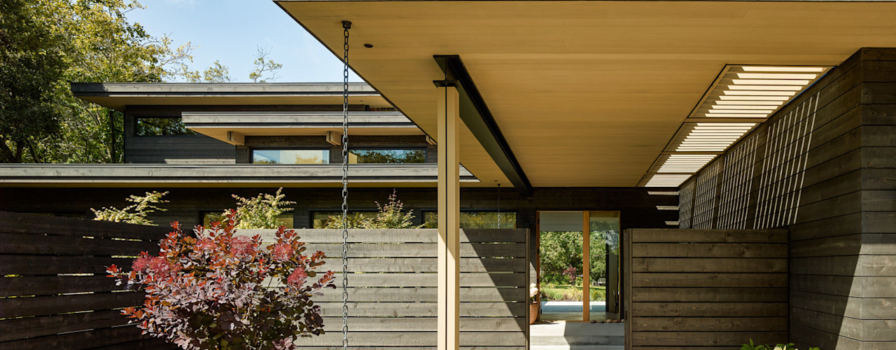 Feldman Architecture Rumah Modern Kayu