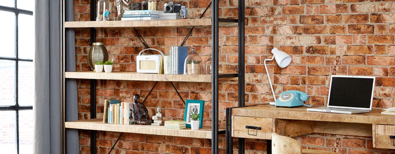 Cosmo Industrial Style Furniture Industasia 客廳書櫃