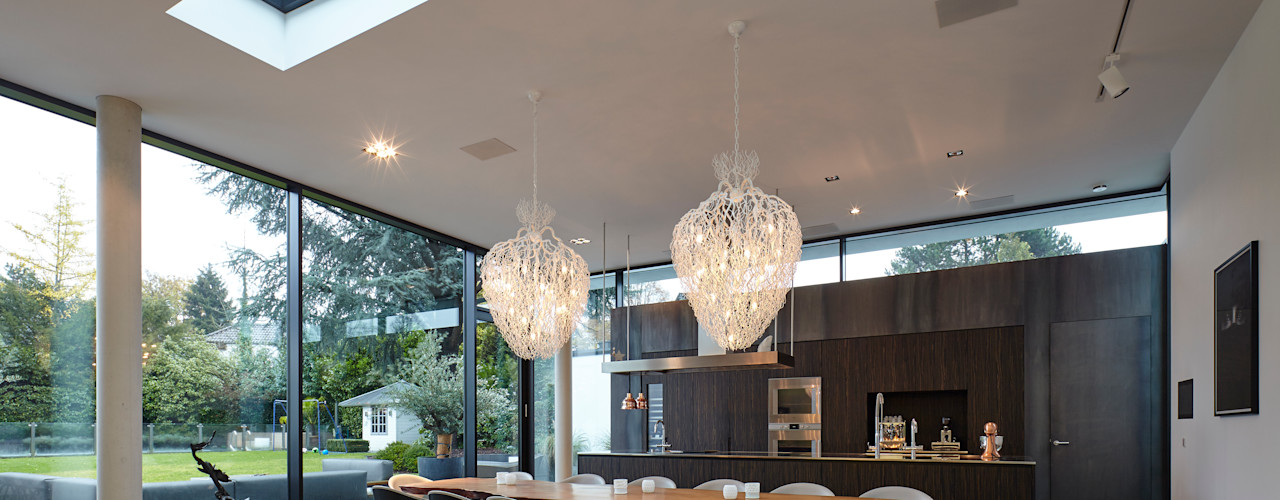 Haus Th. Lioba Schneider Architekturfotografie Moderne Esszimmer
