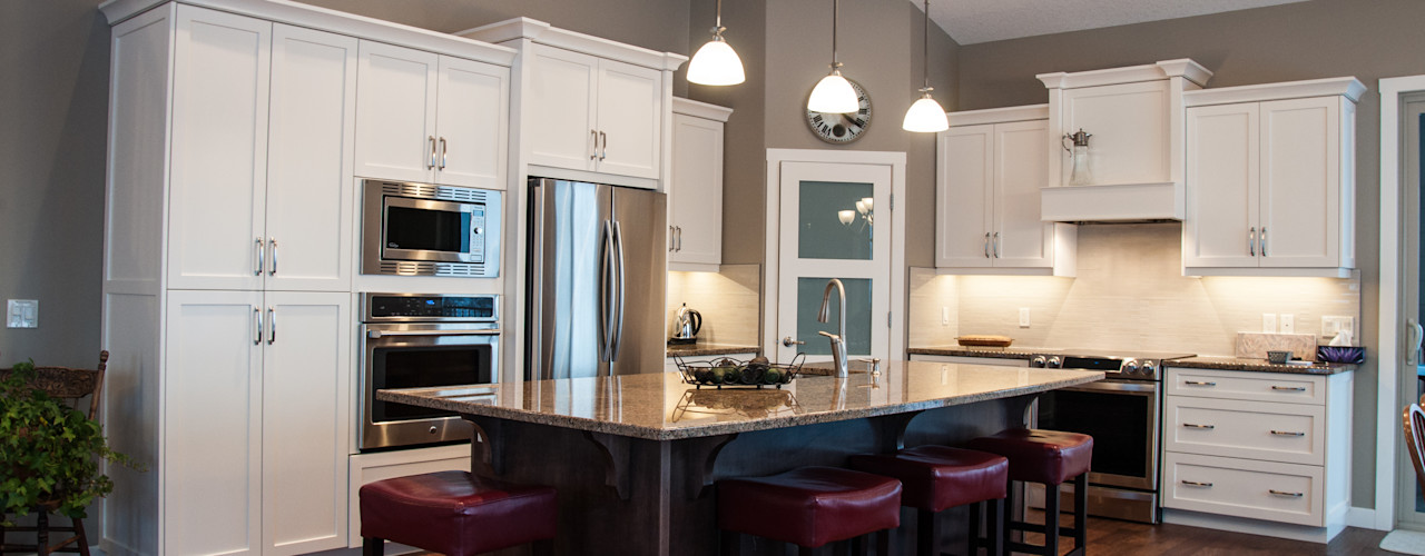 Drafting Your Design Kitchen Solid Wood White
