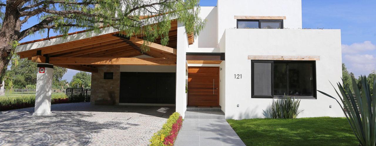 Arquitectura MAS Casas de estilo moderno