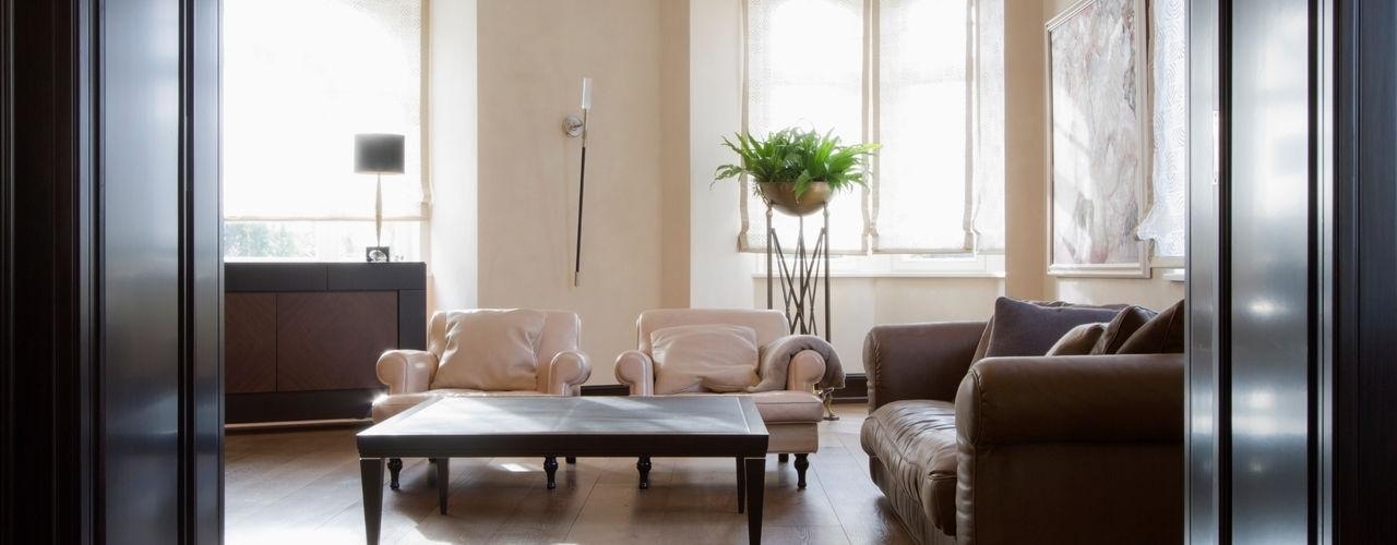 innen_architekten BALS + WIRTH Ruang Keluarga Modern