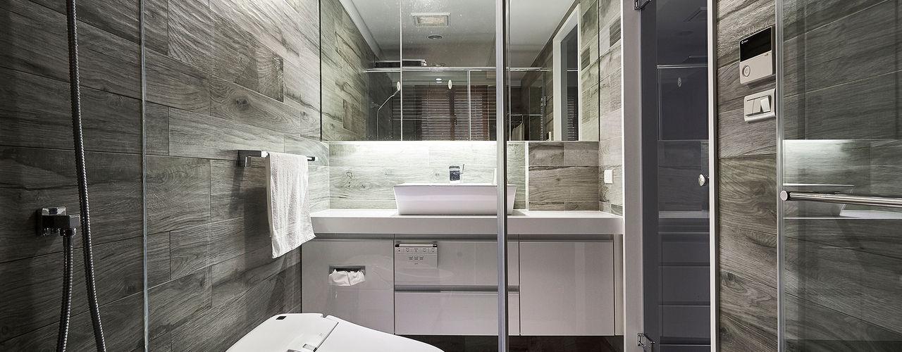 青瓷設計工程有限公司 Salle de bain moderne