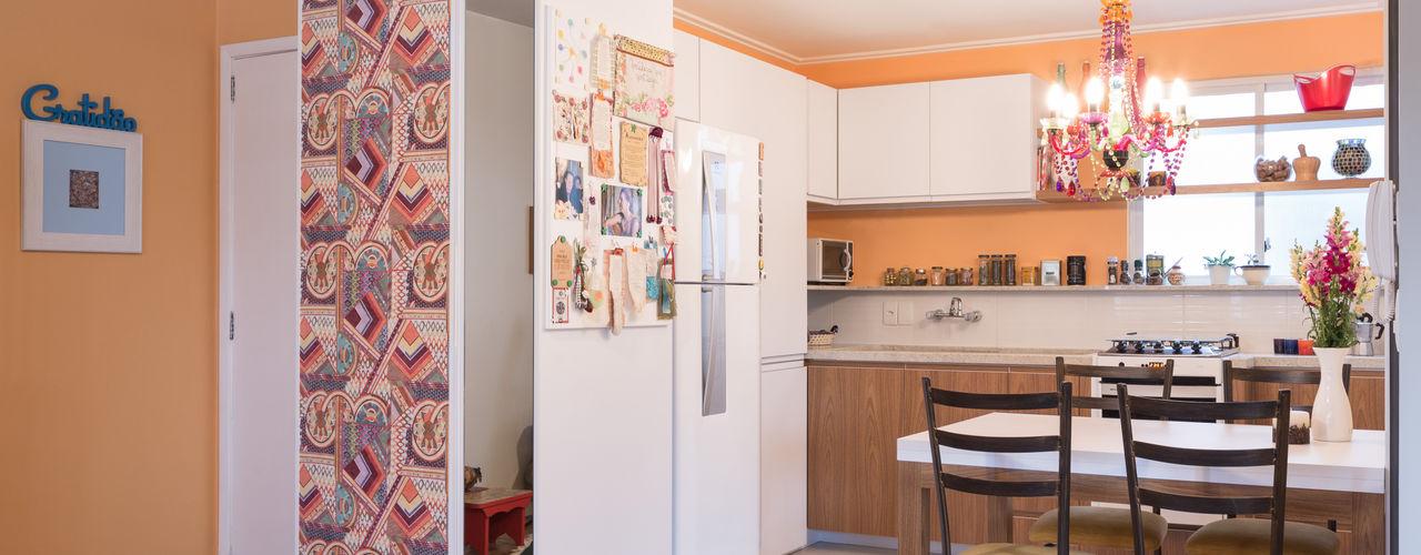 Pura!Arquitetura 廚房 Orange