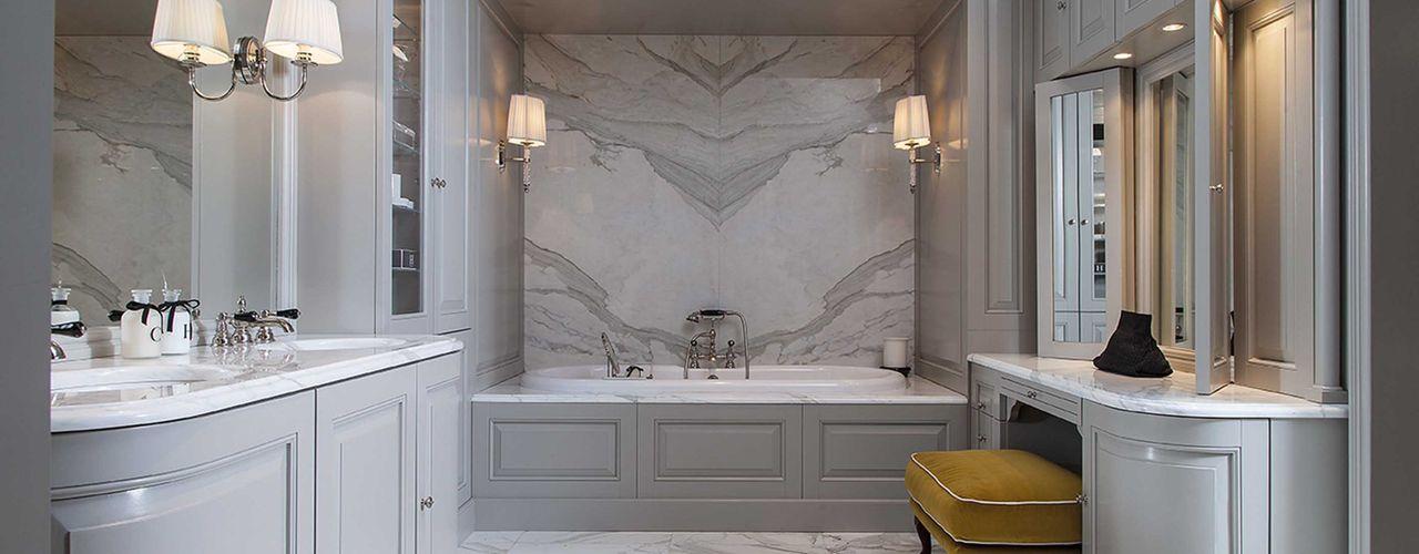 From Pied-à-Terre to Palazzo - Devon&Devon makes the perfect bathroom Devon&Devon UK Classic style bathroom Marble Grey