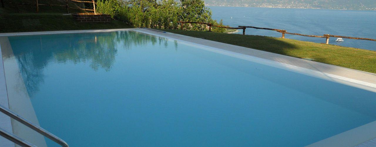 Aquazzura Piscine Moderne Pools Beton Blau