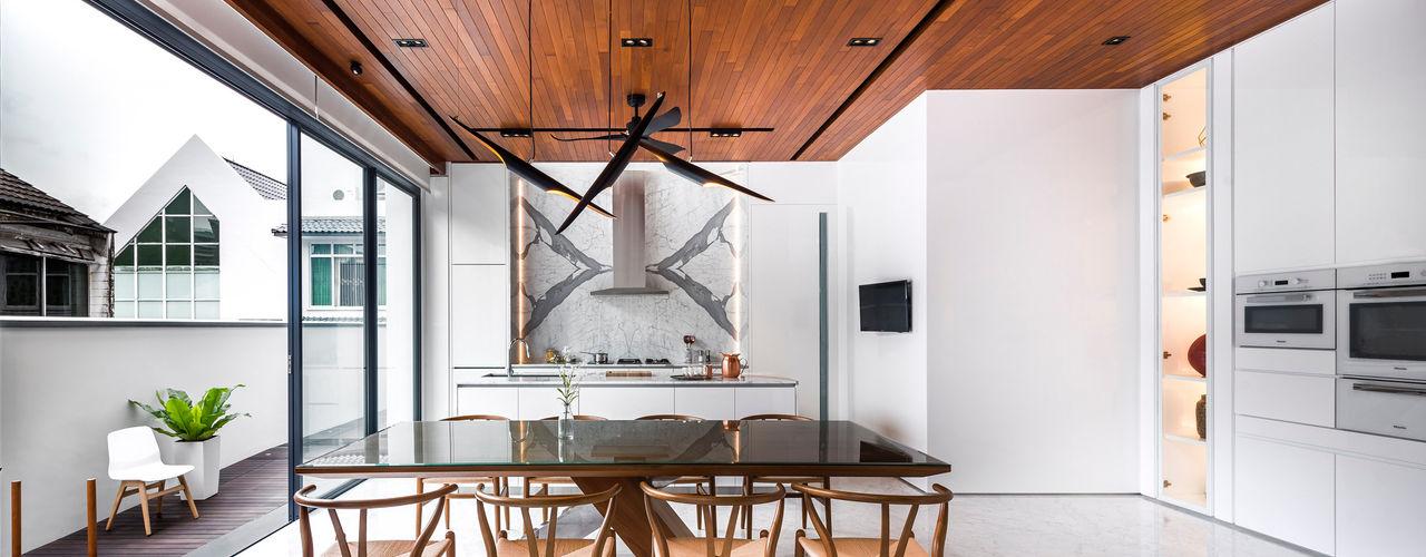 ming architects 現代廚房設計點子、靈感&圖片