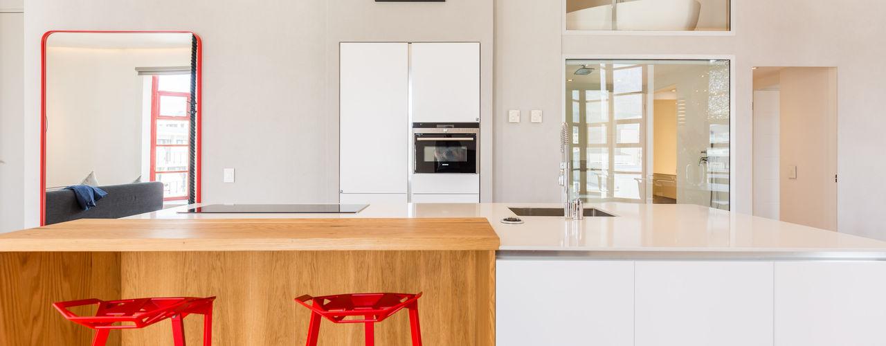 2MD Exclusive Italian Design 現代廚房設計點子、靈感&圖片 木頭 Wood effect