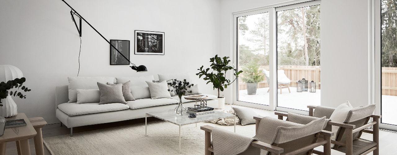 Design for Love Scandinavian style living room White
