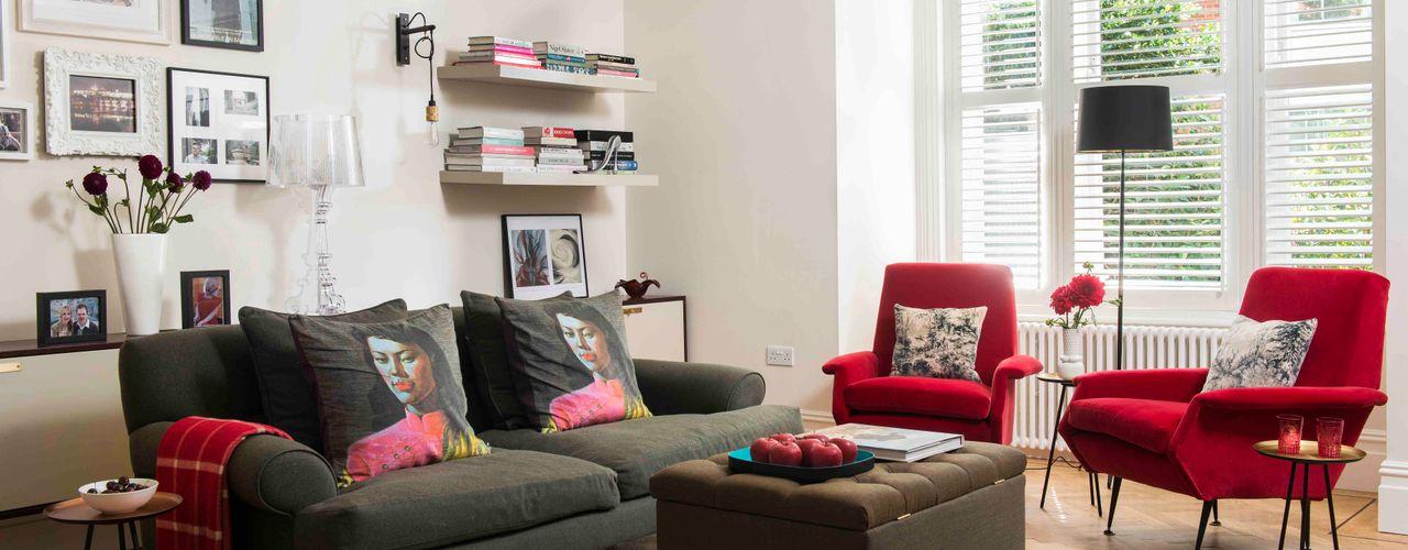 'Designed for living' - Whitehall Park Residential SWM Interiors & Sourcing Ltd Salon moderne
