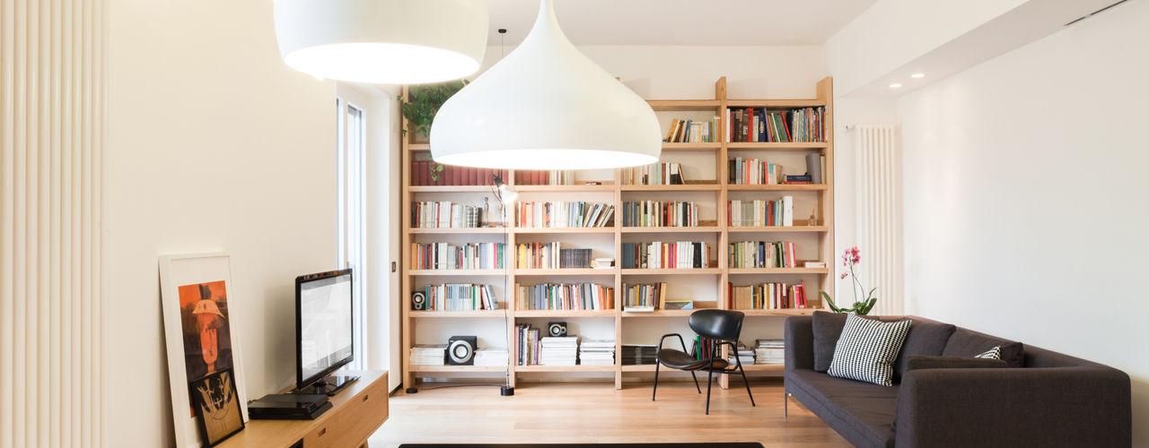 casa SR M2Bstudio Soggiorno minimalista