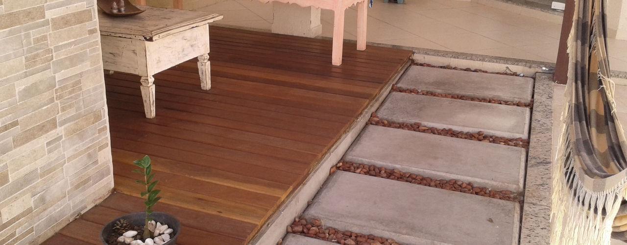 Atelier Plural Rustic style walls & floors