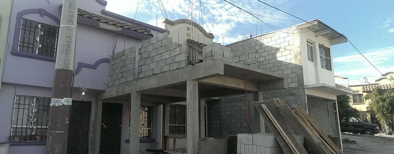 Ampliación Casa Habitacion RR Lentz Arquitectura Diseño y Construcción Casas modernas Concreto reforzado