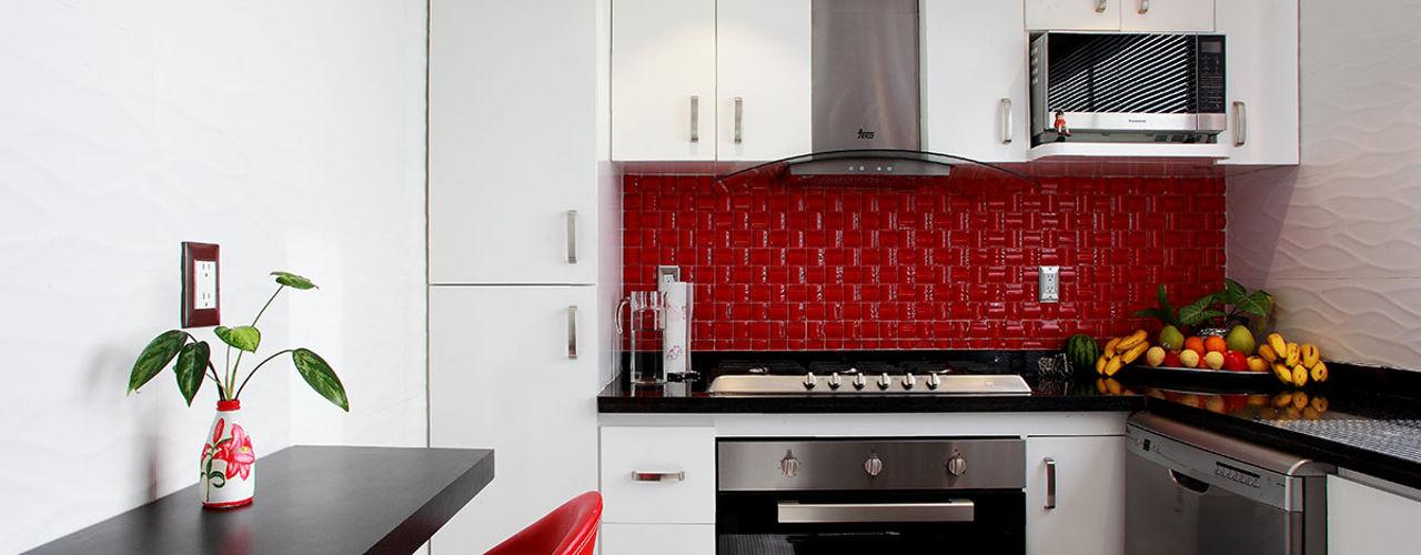 All Arquitectura Cocinas de estilo ecléctico Blanco