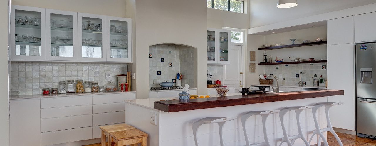 Muse Architects Кухни в эклектичном стиле