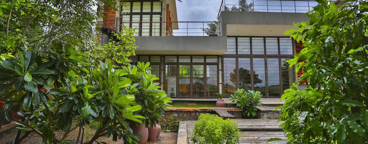 prarthit shah architects 庭院