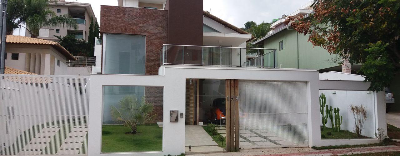 Monica Guerra Arquitetura e Interiores Rumah Modern