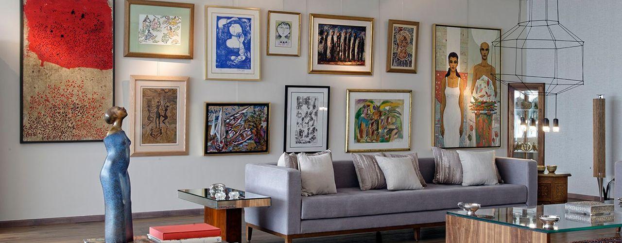 Pyramid Hills Villa Jam Space Ltd Eclectic style living room