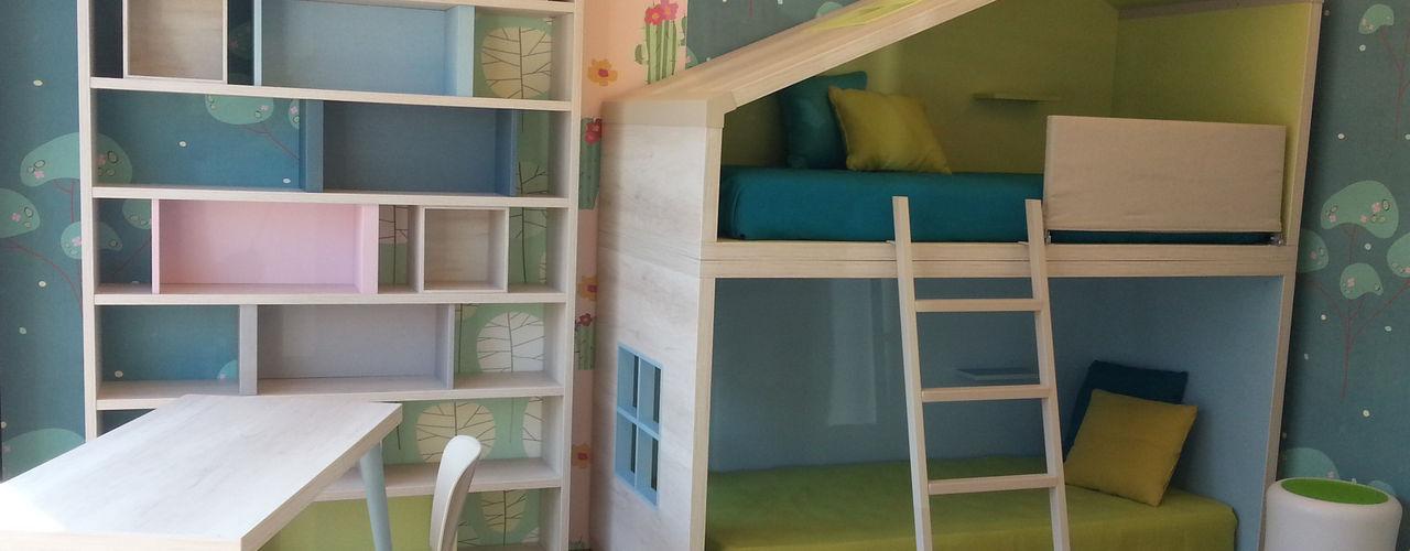 Un cottage per due Spaziojunior Stanza dei bambini moderna