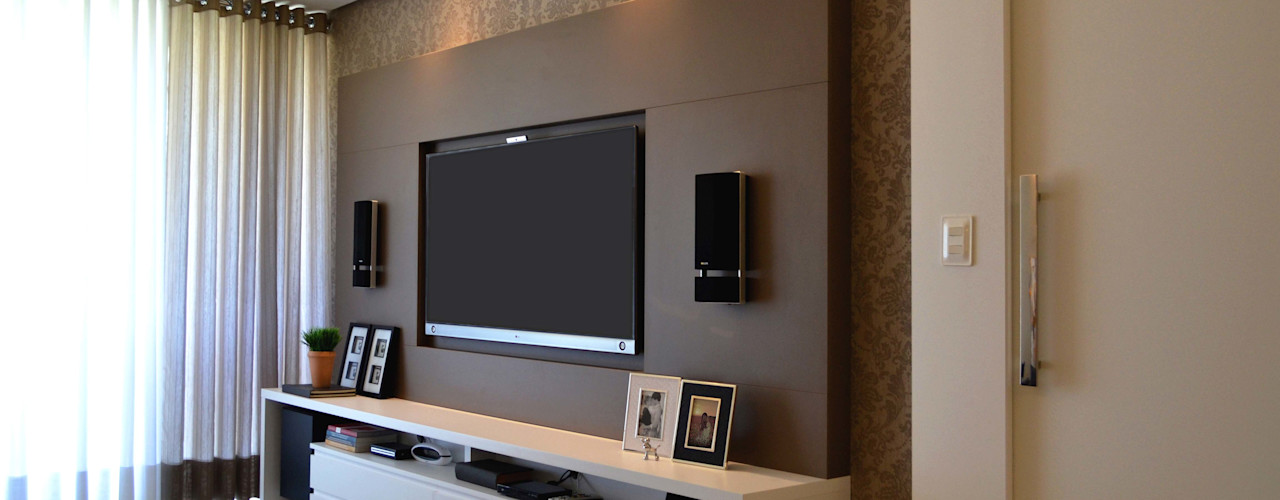 Join Arquitetura e Interiores Salones modernos