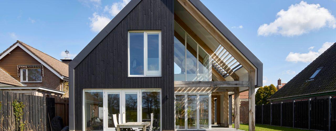 Villa in Sint Pancras Broos de Bruijn architecten Moderne huizen