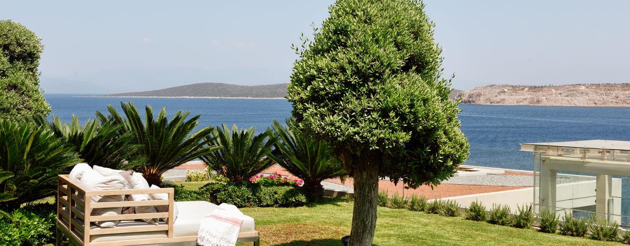 Esra Kazmirci Mimarlik Jardines de estilo moderno Verde