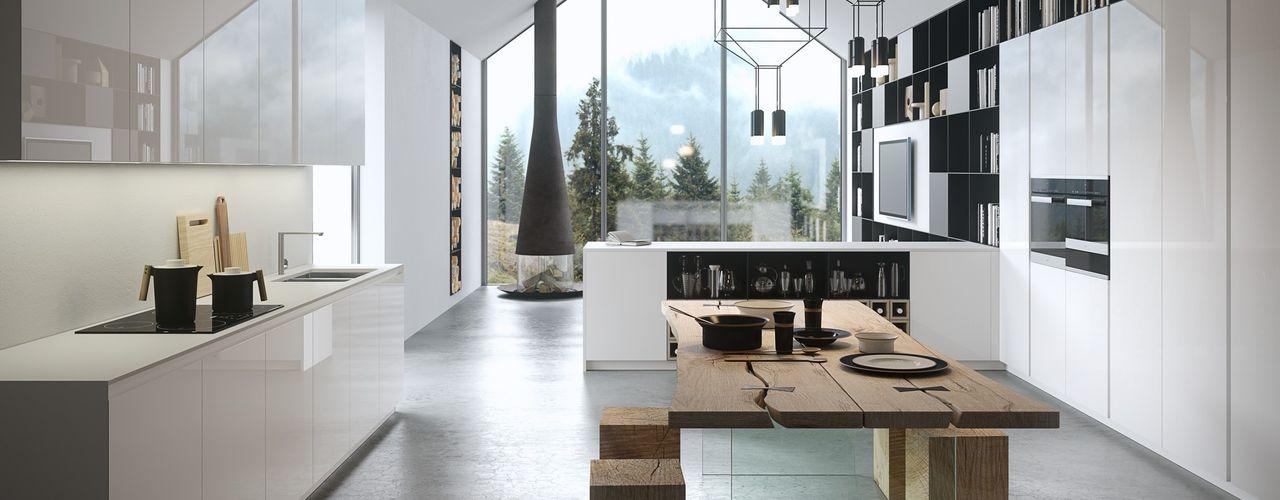 Abita design srl / Paolo Vindigni مطبخ