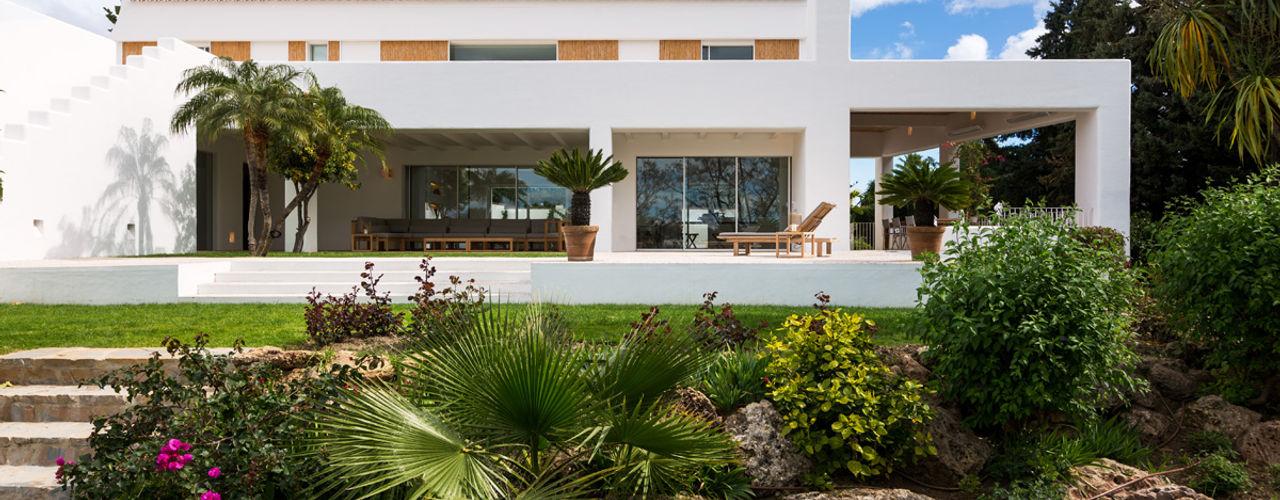 Alejandro Giménez Architects Сад камней Камень Зеленый