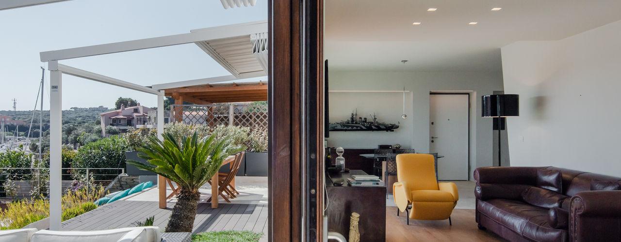 Officina29_ARCHITETTI 现代客厅設計點子、靈感 & 圖片