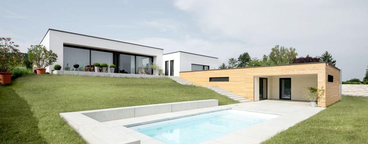 Exclusiver Bungalow mit hochwertiger Ausstattung in Lichtenfels wir leben haus - Bauunternehmen in Bayern Ausgefallene Häuser