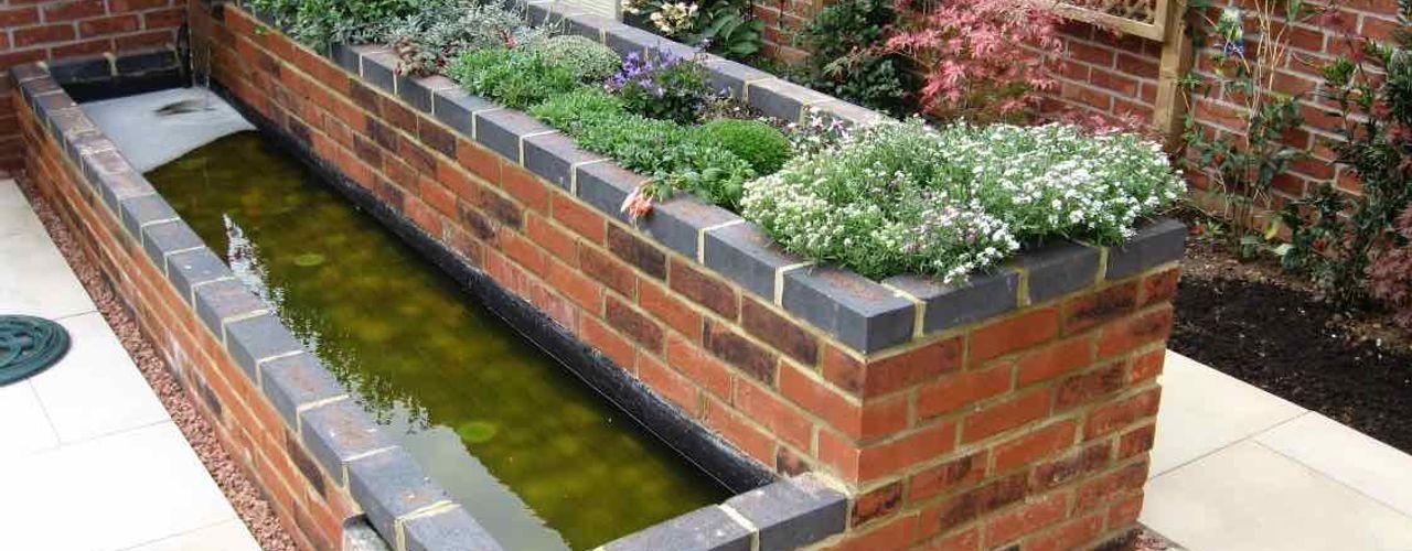 Small modern garden Jane Harries Garden Designs Moderner Garten Ziegel