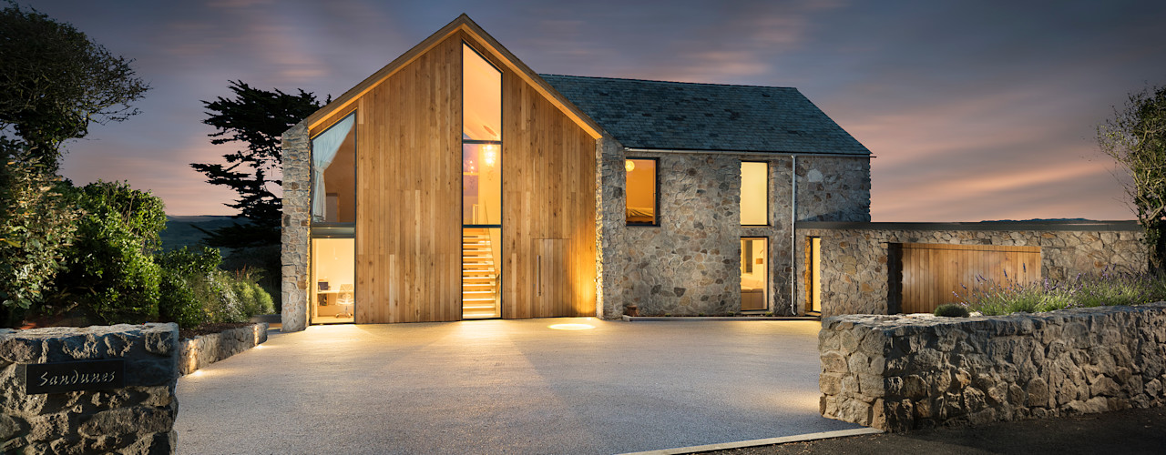 Contemporary Replacement Dwelling, Cubert Laurence Associates Einfamilienhaus Granit
